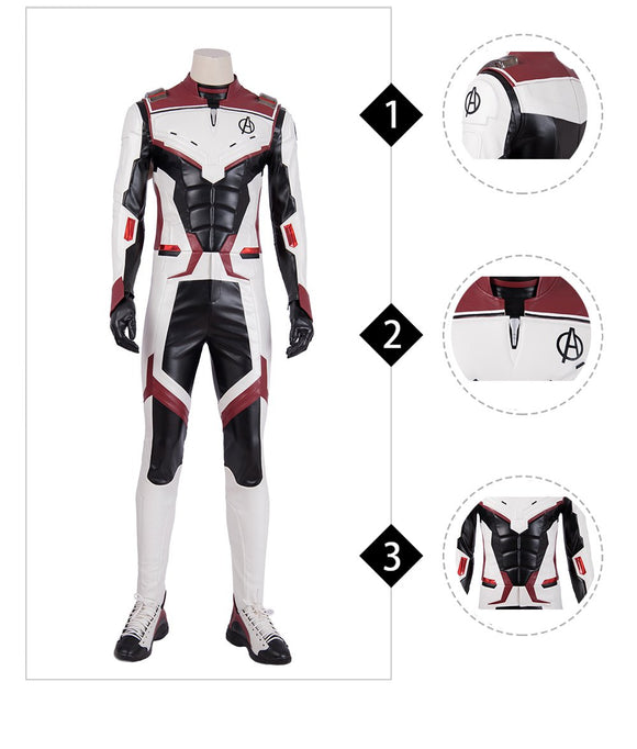 Quantum Realm Costume The Avengers 4 Endgame replica quantum cosplay outfit with shoes