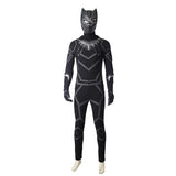 Black Panther Movie Costume T Challa Cosplay Costume For Adults(A)