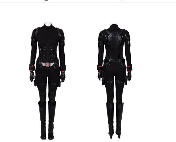 Black Widow Natasha Romanoff Cosplay Costume The Avengers 4 Endgame Replica outfit