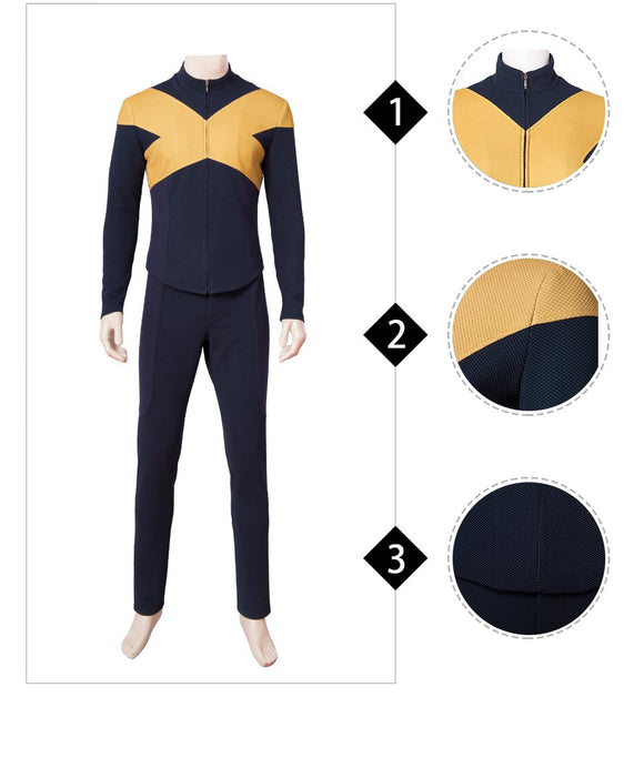Charles Xavier X-MEN Suit X-Men Dark Phoenix Cosplay Costume for Men 2019 Halloween