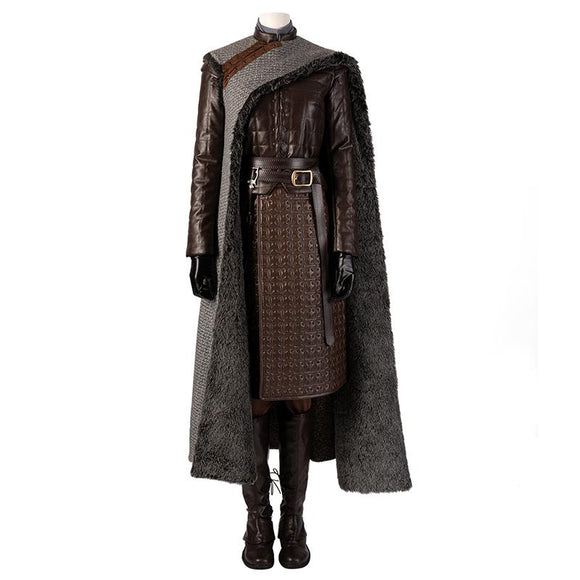 Arya Stark cosplay costume Game of Thrones season 8 replica costume