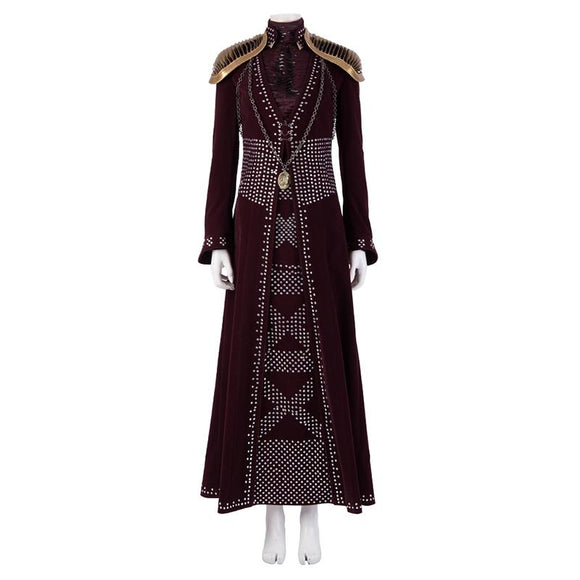 Cersei Lannister cosplay costume Game of Thrones 8 replica cosplay outfit women halloween costume