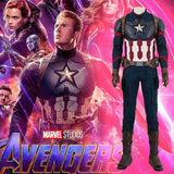 Captain America Steve Rogers Cosplay Costume