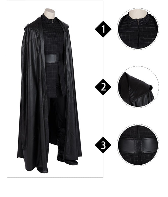 Kylo Ren cosplay costume Star Wars Episode IX The rise of skywalker Replica costume