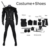 Geralt of Rivia Cosplay Costume The Witcher outfit