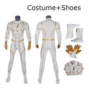 Godspeed Cosplay Costume The Flash Season 5 Godspeed TV replica outfit