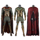 Mysterio Cosplay Costume Spider man Far from home Replica outfit for Adult