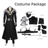 Sephiroth Cosplay Costume Final Fantasy VII Remake Replica outfit