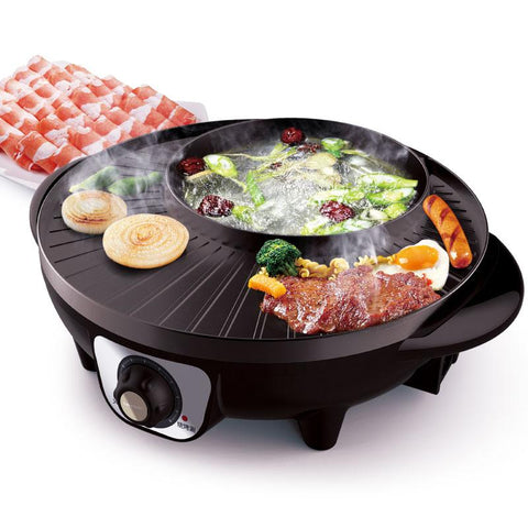 2-in-1 Hot Pot and Grill