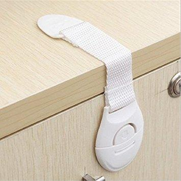 10Pcs/Lot Child-Lock Protection Straps