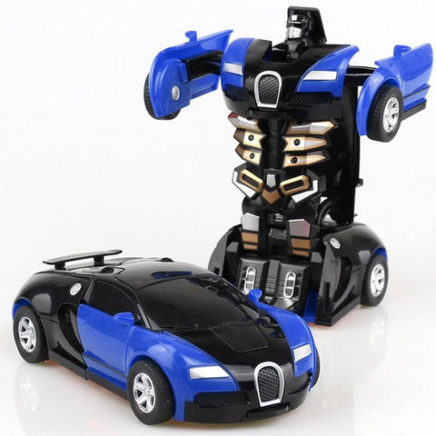Robot Car Transforming Toy