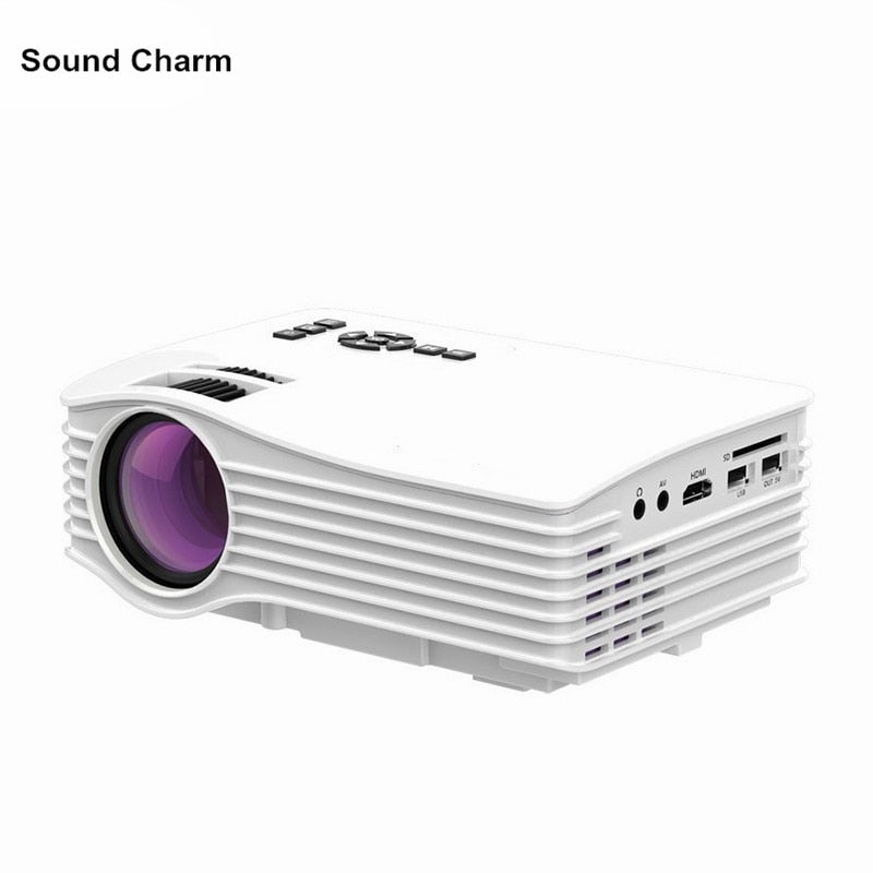 Mini Projector Max 130inch hd Portable LED Projector with HDMI USB Proyector