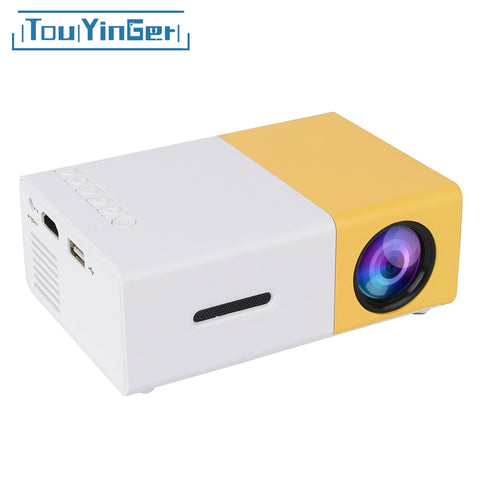 Mini Portable Pocket LED Projector Beamer YG300 YG310 LCD Video Projector