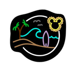 Load image into Gallery viewer, Neon Surfin' at Sunset Decal