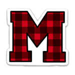 Load image into Gallery viewer, Buffalo Plaid M Decal
