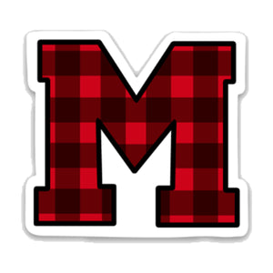 Buffalo Plaid M Decal