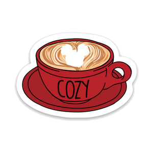 Cozy Coffee Cup Decal