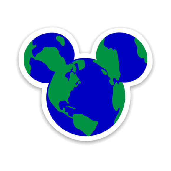 Mouse World Decal