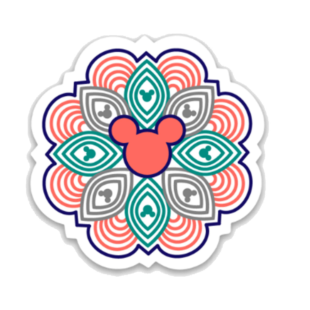 Mandala Decal