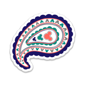 Paisley Decal