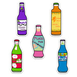 Load image into Gallery viewer, 5 Pack Soda Bottle Decals