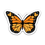 Load image into Gallery viewer, Orange Butterfly Decal