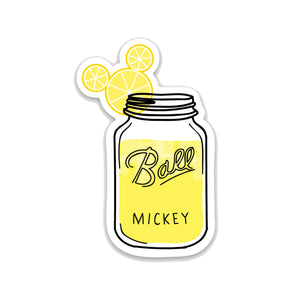 Lemonade Drink Decal