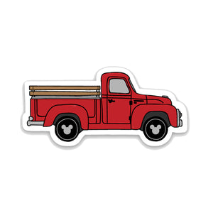 Old Time Truck Decal