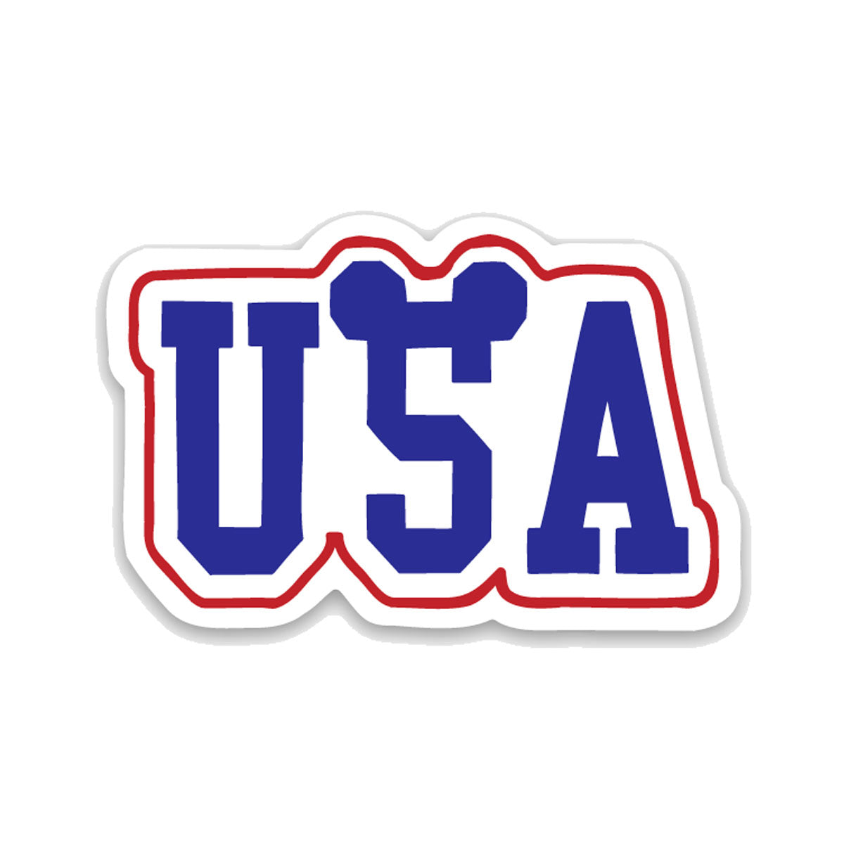 USA with Ears Decal