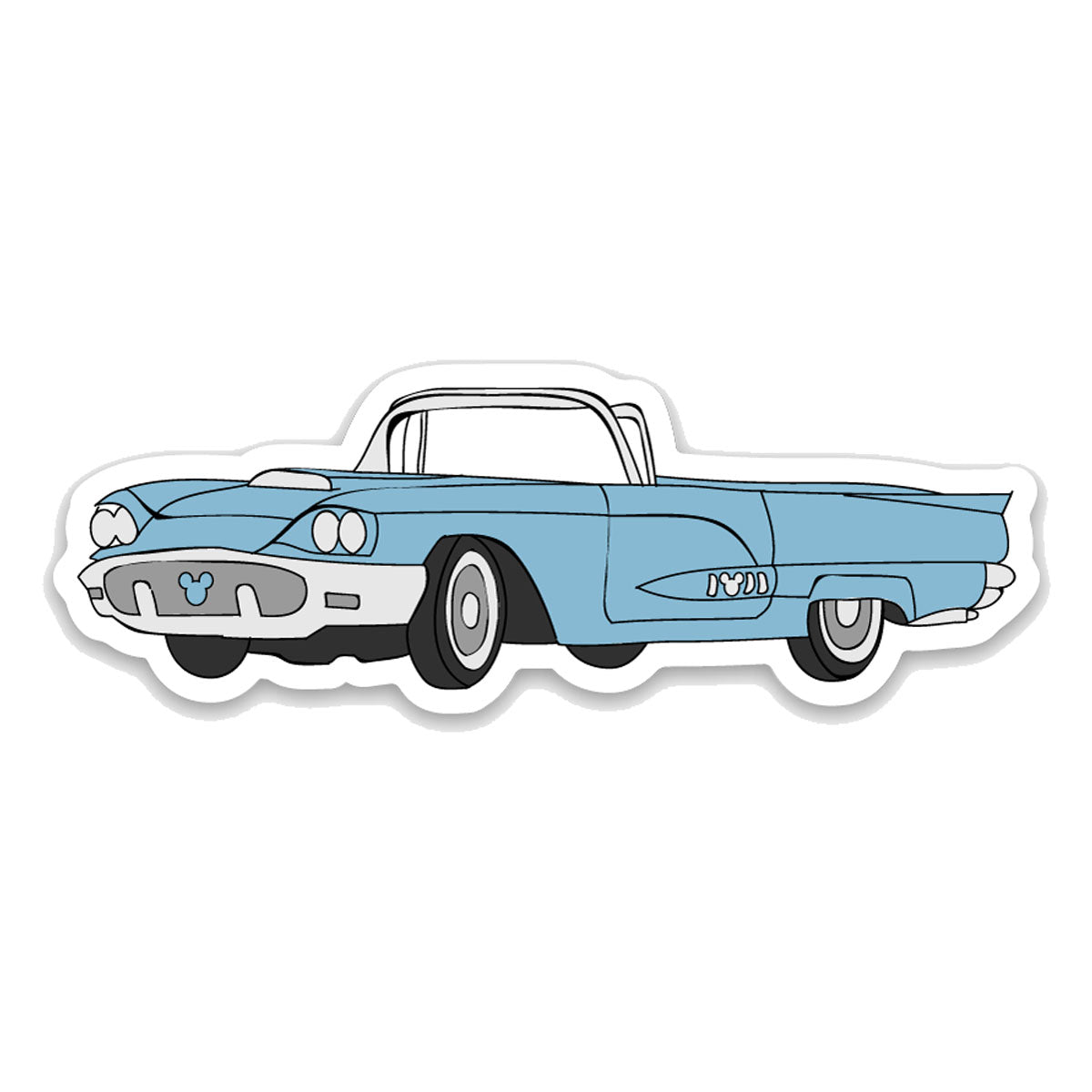 50s T-Bird Decal