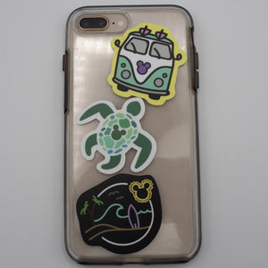 Totally Tubular Turtle Decal