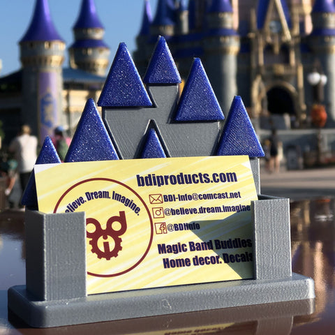 MK 50 Castle Business Card Holder