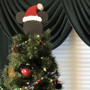 Christmas Tree Topper - Classic Icon with Hat (FREE SHIPPING)