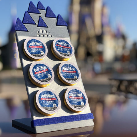 50th Anniversary Castle Character Coffee Pod Holder (FREE SHIPPING)