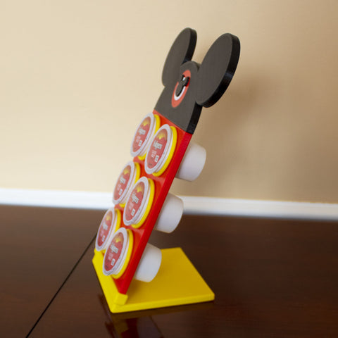 Classic Mouse Character Coffee Pod Holder - (FREE SHIPPING)