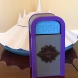 PUSH the Tomorrowland Desktop Trash Can