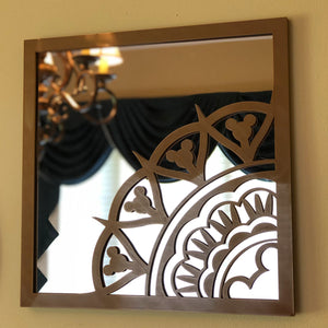 "BoHo Mouse Square 10"" Mirror (FREE SHIPPING)"