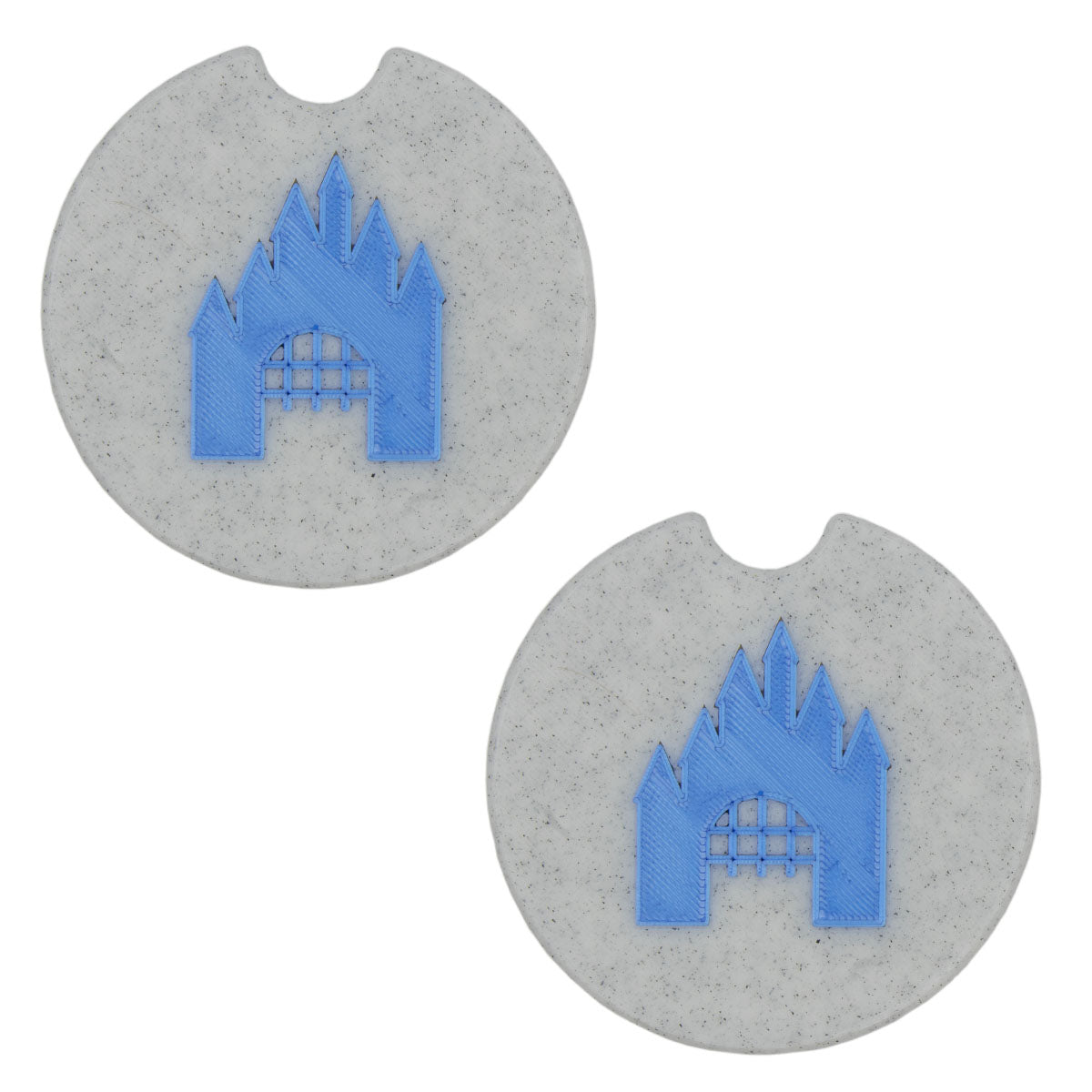 Castle Car Coasters - Set of 2