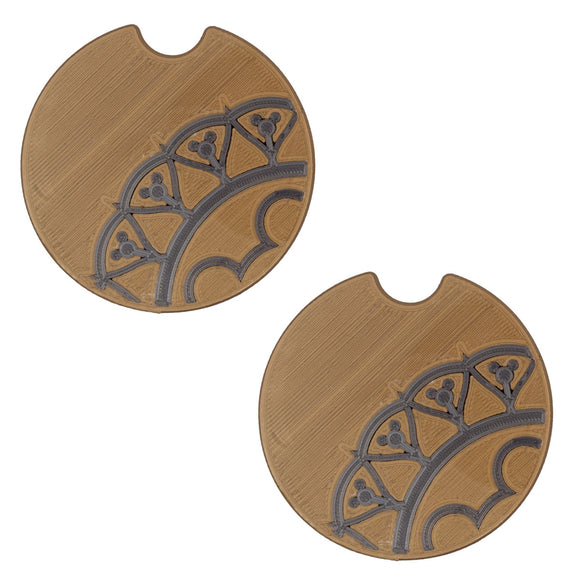 BoHo Car Coasters - Set of 2