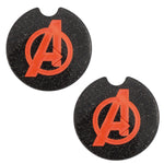 Load image into Gallery viewer, Avengers Car Coasters - Set of 2