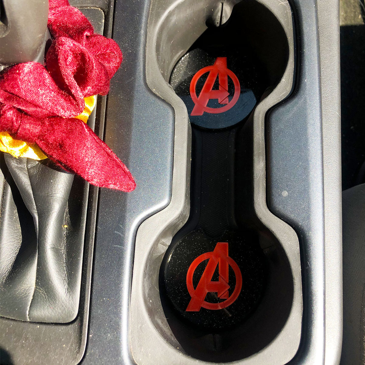 Avengers Car Coasters - Set of 2