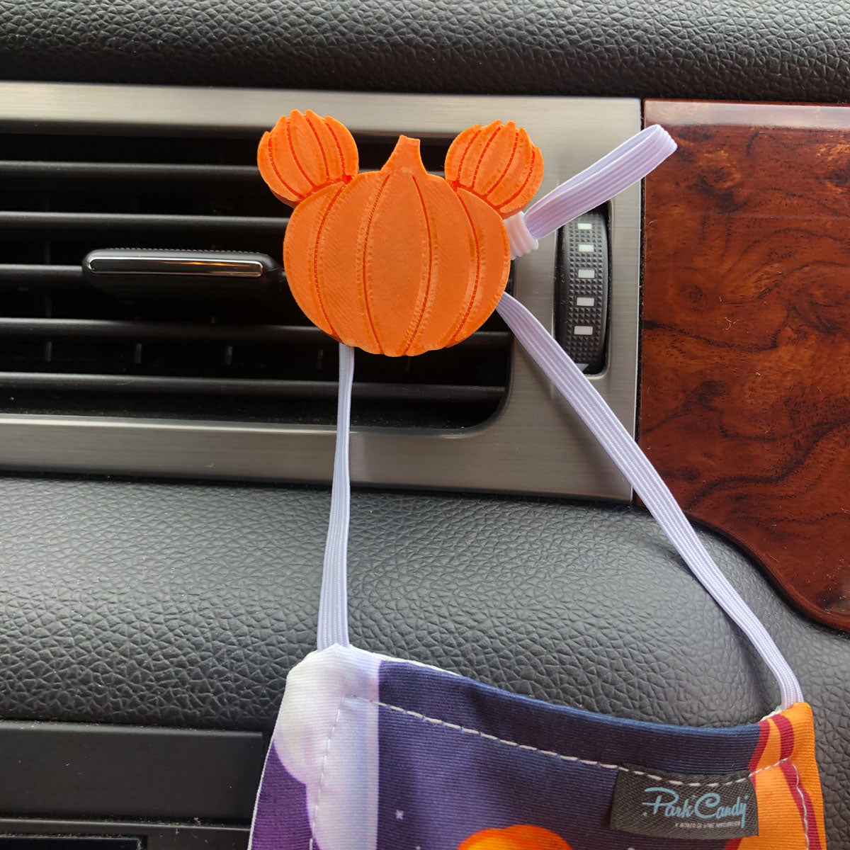 3-Pack Car Character Clip - Vent Decor / Mask Holder