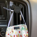 Load image into Gallery viewer, Mouse Head Car Character Clip - Vent Decor / Mask Holder