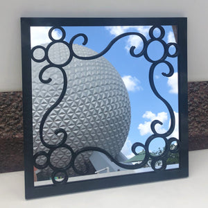 "Scroll Mouse Square 10"" Mirror (FREE SHIPPING)"