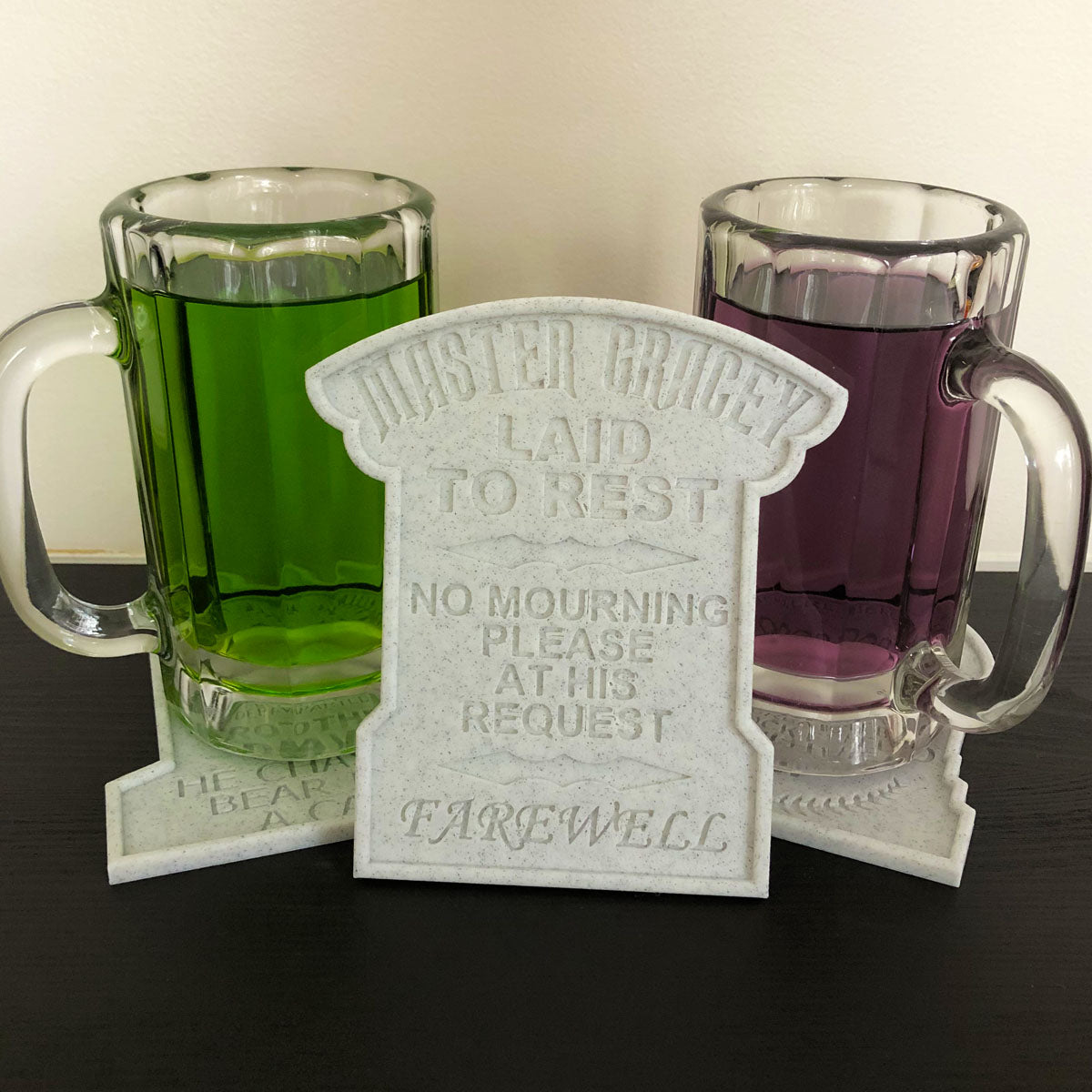 Tombstone Drink Coasters