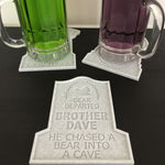 Load image into Gallery viewer, Tombstone Drink Coasters