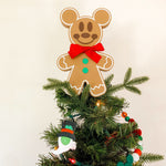 Load image into Gallery viewer, Gingerbread Mouse Christmas Tree Topper (FREE SHIPPING)