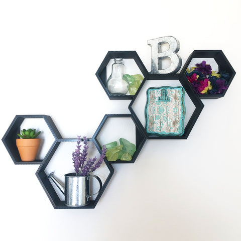 Classic Mouse Hex Shelf (FREE SHIPPING)