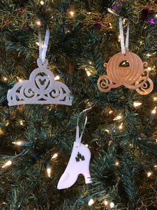 Royal Christmas Ornament 3 Piece Set