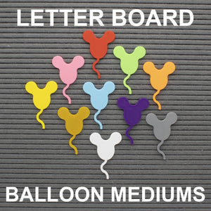 Letter Board Balloon Mediums Set